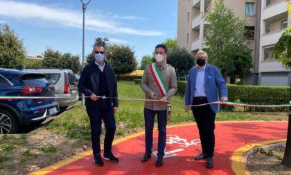 Inaugurata una nuova ciclabile a Chiari