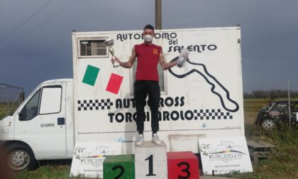 È bresciano il pilota che sta trionfando nel Campionato italiano di autocross