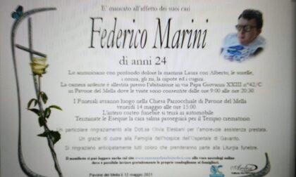 Tutta Pavone piange la scomparsa di Federico Marini