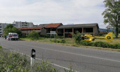 Incidenti in serie nel tardo pomeriggio: interviene l'elicottero a Palazzolo