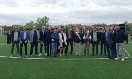 Il campo di Rivoltella intitolato all'ex arbitro Gaetano Mascali LE FOTO