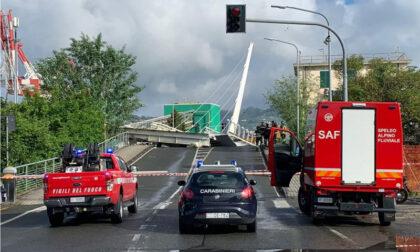 In Liguria è crollato un altro ponte