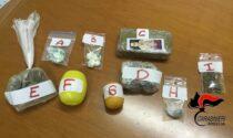Spaccia coca e hashish, arrestato 26enne della Bassa
