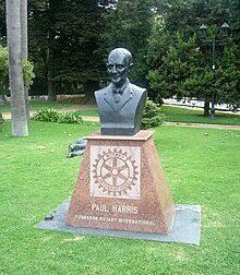 Inaugura domani il nuovo parco di San Martino dedicato a Percy Harris, fondatore del Rotary