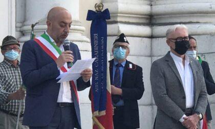 Cerimonia per la Festa della Repubblica sul sagrato del Duomo