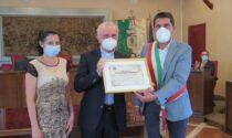 Consegnata la cittadinanza onoraria a don Renato Musatti
