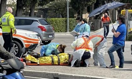 Schianto a Toscolano, paura per un 24enne: decolla l'elisoccorso