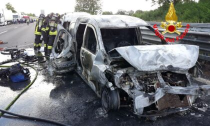 Maxi-incidente in A4, quattro ambulanze ed elisoccorso