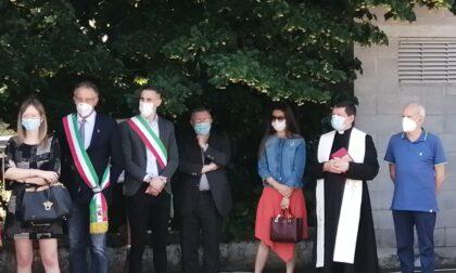 Inaugurata a Quinzano la via intitolata a monsignor Fappani