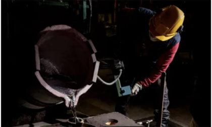 Fonderia di alluminio, un'eccellenza manifatturiera del territorio