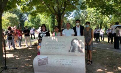 Intitolato ad Oriana Fallaci il Parco del Laghetto