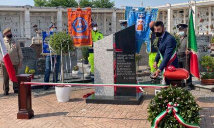 A Quinzano un monumento per le vittime mietute dal Covid