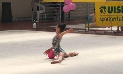 Tre settimane di minigrest di ginnastica ritmica