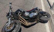 Perde il controllo della moto: giovane centauro in ospedale