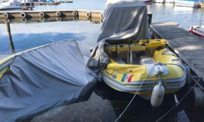 Vandali in azione sul lago d'Iseo: devastate due idroambulanze della Croce Rossa