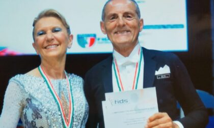 Parzani e Foglia orgoglio clarense: sono i campioni italiani di ballo