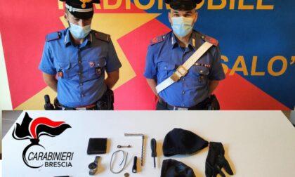 Tentano di rubare in un'abitazione: arrestati dai Carabinieri