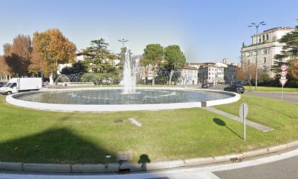Finale degli Europei, a Brescia svuotata la fontana