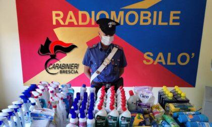 Rubava saponi (e non solo) dal supermercato: arrestata 70enne