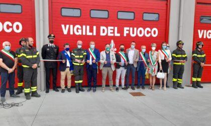 I pompieri di Verolanuova inaugurano l'autoscala e delle nuove autorimesse