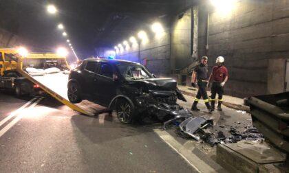 Incidente in galleria Covelo: tre veicoli coinvolti all'alba lungo la Sp510