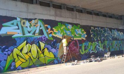 Graffiti, musica e poesia per l'Hof Jam organizzata da Skarti d'autore