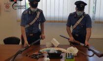 Oltre alla droga un fucile da caccia abusivo, arrestato un borgosatollese
