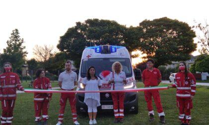 Inaugurata a Pozzolengo la nuova ambulanza della Croce Rossa
