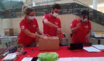 Oltre 900 chili di solidarietà con la Croce Rossa