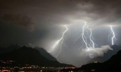Allerta meteo arancione nel bresciano: forti temporali in arrivo