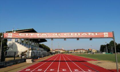 Conclusa la sistemazione della pista di atletica di Chiari
