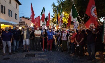 A Desenzano il presidio antifascista in occasione del sesto memorial Riva