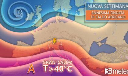 Inizia la settimana più calda dell'estate: mercoledì 8 città da bollino rosso