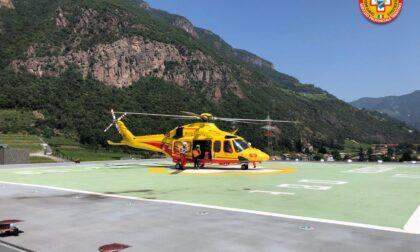 Precipita col parapendio: soccorso sulle Dolomiti da un gruppo di manerbiesi