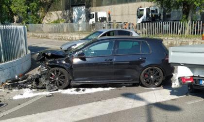 Incidente tra due auto a Zocco di Erbusco: coinvolti due 30enni