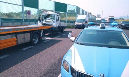 Incidente in autostrada A4: code tra Ponte Oglio e Rovato