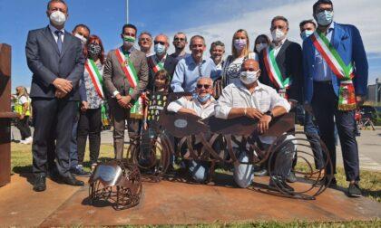 """Inaugurata la """"Moto degli angeli"""" a Rudiano"""
