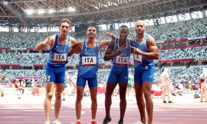 Un altro oro bresciano: fantastica vittoria della 4x100 di atletica