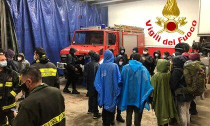 Gruppo Scout sorpreso dal maltempo, intervengono i Vigili del fuoco