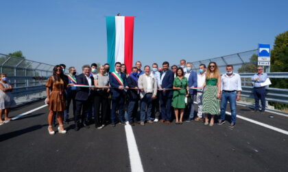 Inaugurato il nuovo ponte che collega Brescia e Bergamo