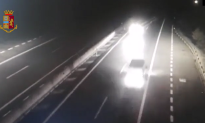 Alla guida ubriaco percorre la Cordamolle contromano IL VIDEO