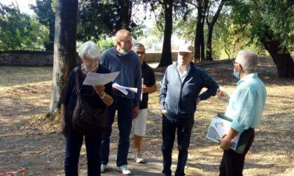 Passeggiate nel parco dei Silenziosi Operai della Croce