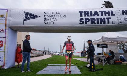 Triathlon Sprint Città di Salò, il vincitore è Massimo Cigana