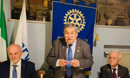 Nedo Brunelli alla guida del Rotary Brescia Verola