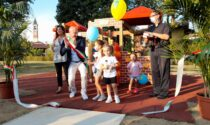 Tutti i bambini posso giocare con il nuovo parco inclusivo