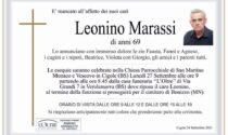 Addio a Leonino Marassi, Cigole perde il suo farmacista