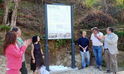 L'antica strada torna alla luce: inaugurata via Fontane Vecchie