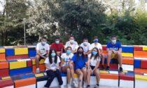 I giovani si rimboccano le maniche per la comunità: rifatto l'anfiteatro