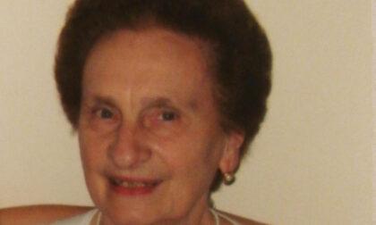 Addio a Maddalena Metelli, storica lavandaia di Chiari