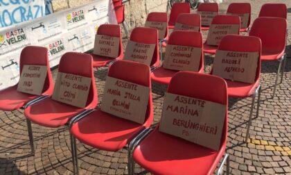 Depuratori del Garda: i 13 parlamentari bresciani invitati non si sono presentati al presidio
